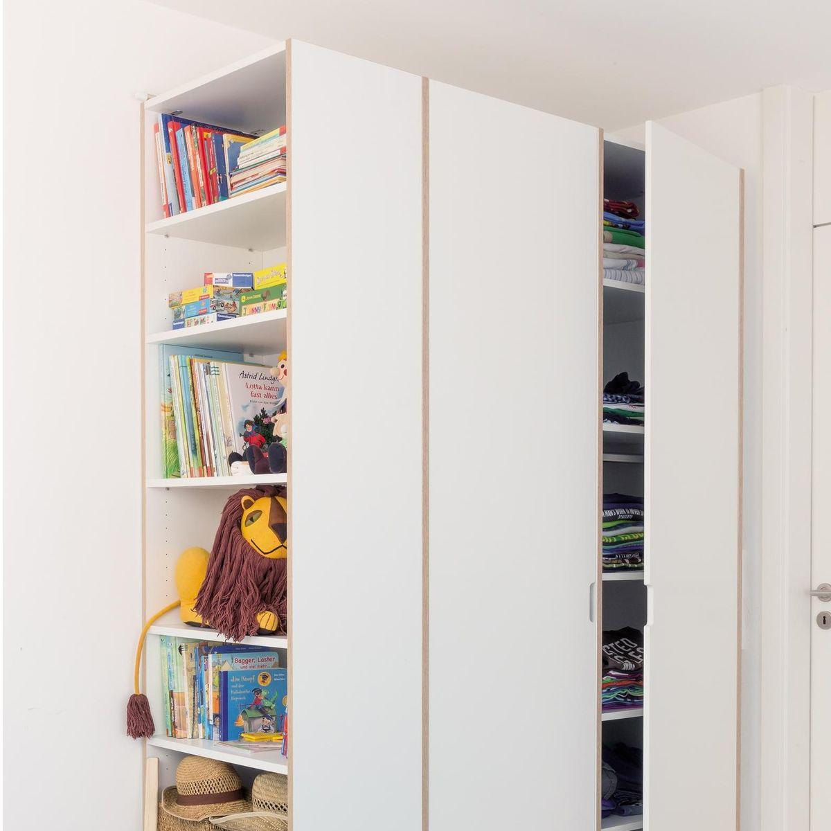 Modular anbaubar cupboard system m ller m belwerkst tten for Prefabricated cupboards
