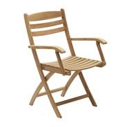 Skagerak - Chaise de jardin avec accoudoirs Selandia