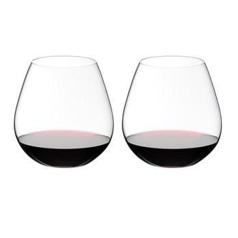 Riedel - O Wine Pinot Weinglas 2er Set - transparent/H 11,2cm, 690ccm
