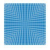 Vondom - F3 Outdoor Teppich - blau/200x200cm