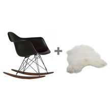 Vitra - Promotion Set RAR Rocking Chair + Fur