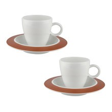 Alessi - Special Edition Bavero Mocha Cup Set Of 4