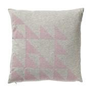 Bloomingville - Geometrics Kissen rosa