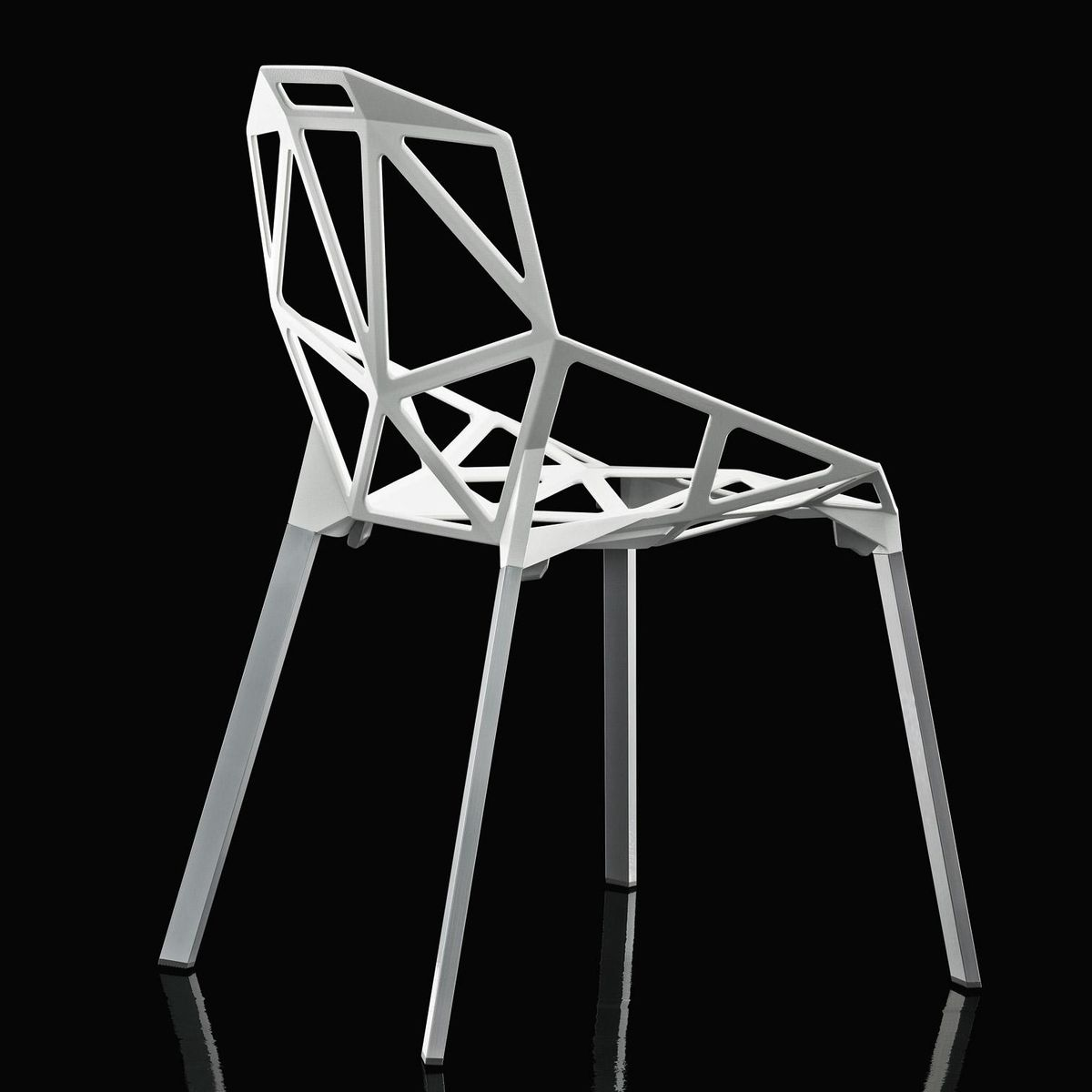 Chair one stacking chair magis for Magis chair one