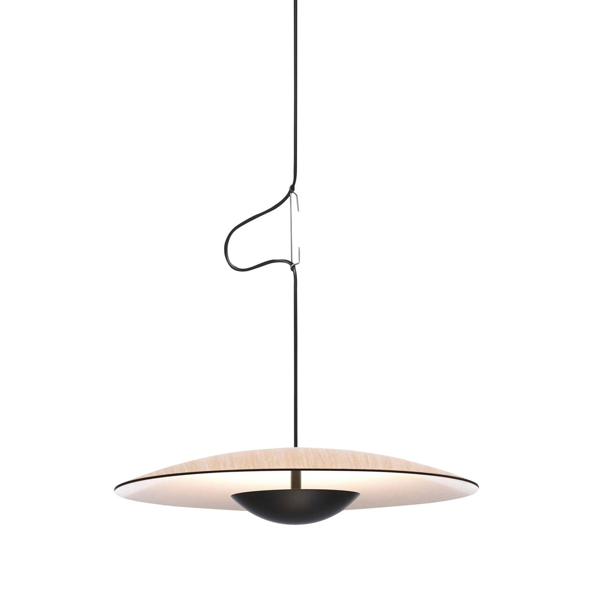 cheap marset ginger led suspension lamp oakcmklm with suspension cercle led. Black Bedroom Furniture Sets. Home Design Ideas