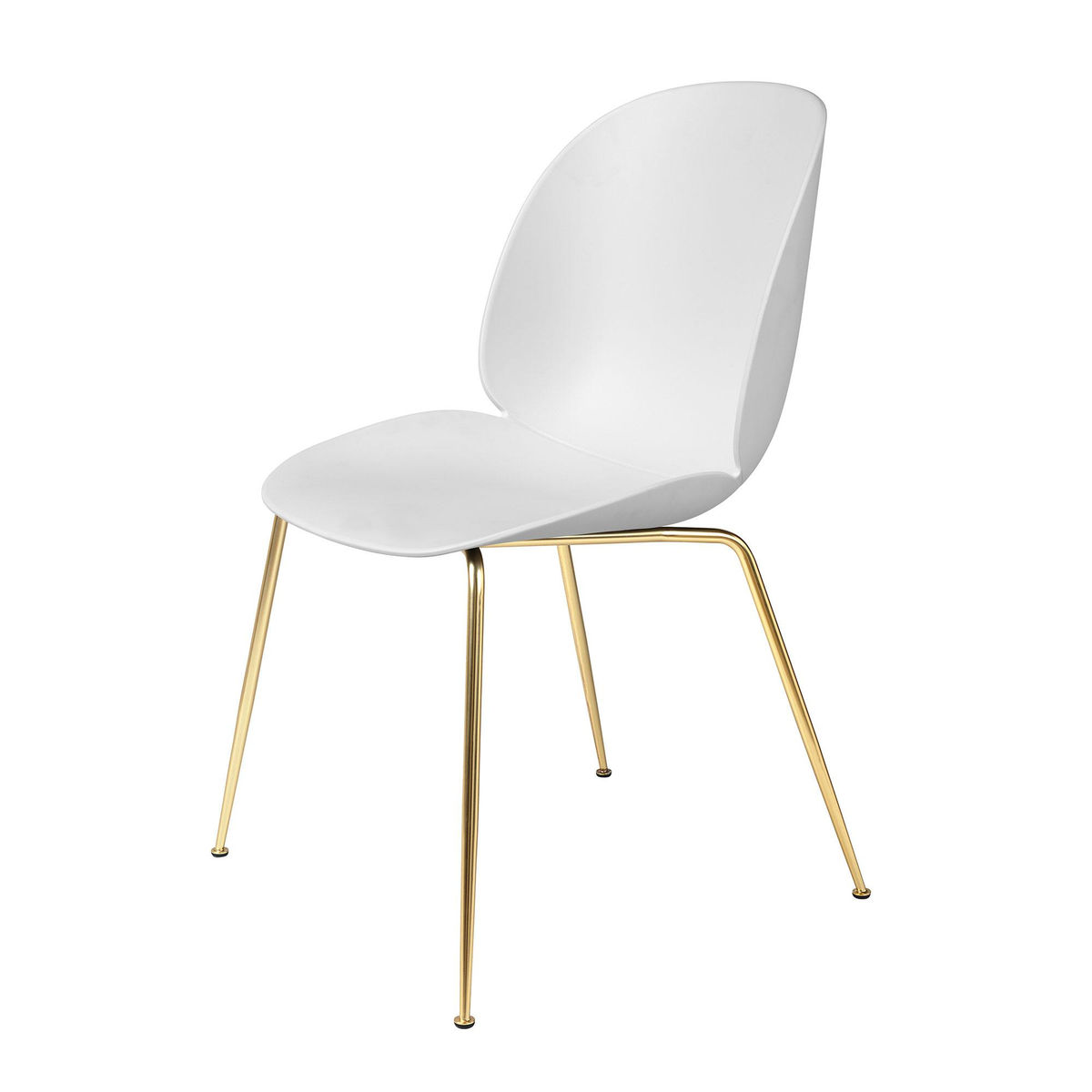 Beetle dining chair brass base gubi - Transparenter stuhl ...
