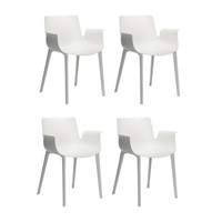 Kartell - Piuma Armchair Set Of 4