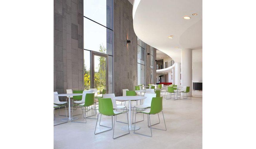 catifa 46 0278 stuhl zweifarbig kufe chrom arper. Black Bedroom Furniture Sets. Home Design Ideas