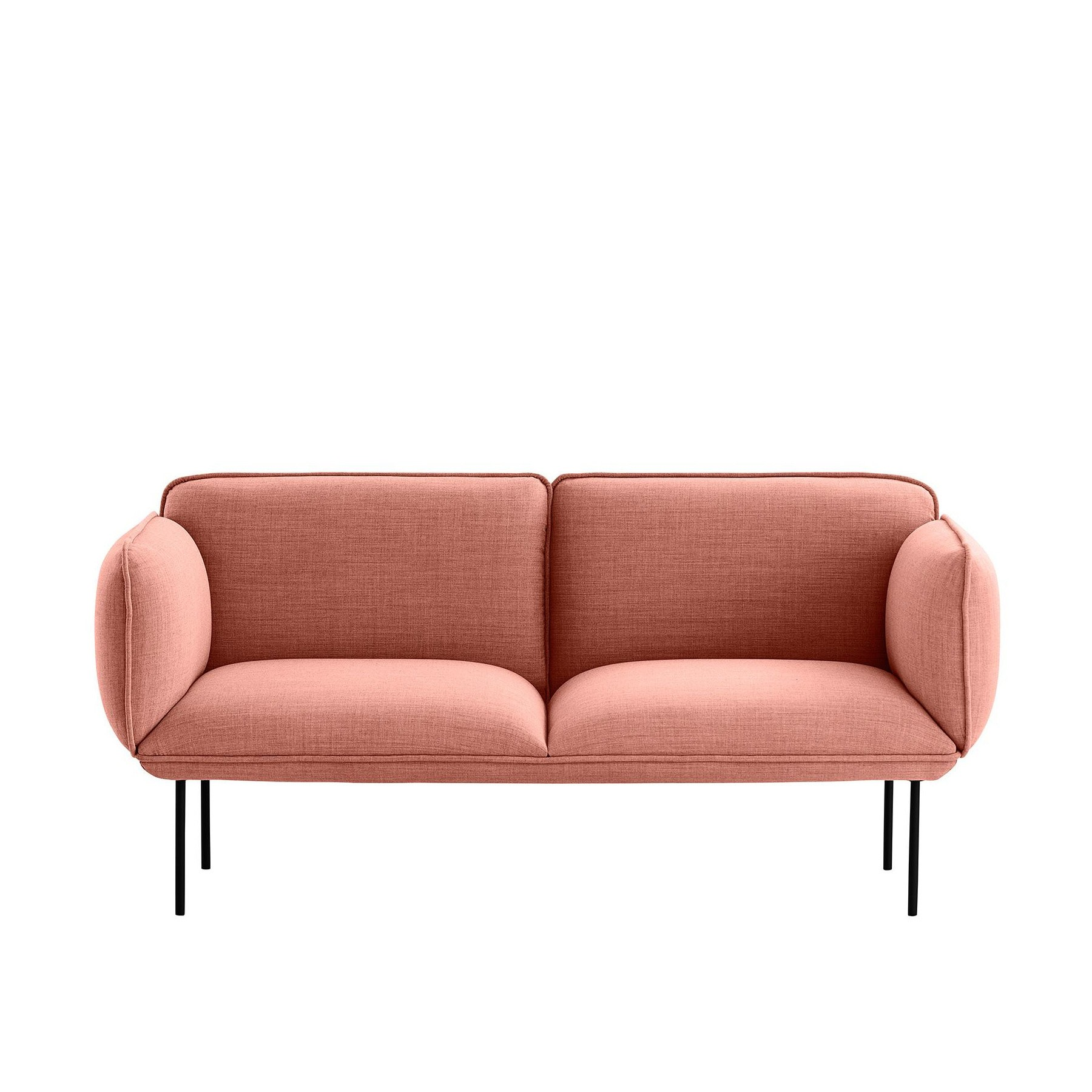 Nakki 2-Seater Fabric Sofa