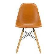 Vitra - Chaise Eames Fiberglass DSW érable doré