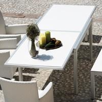 Jan Kurtz - Giga ausziehbarer Gartentisch