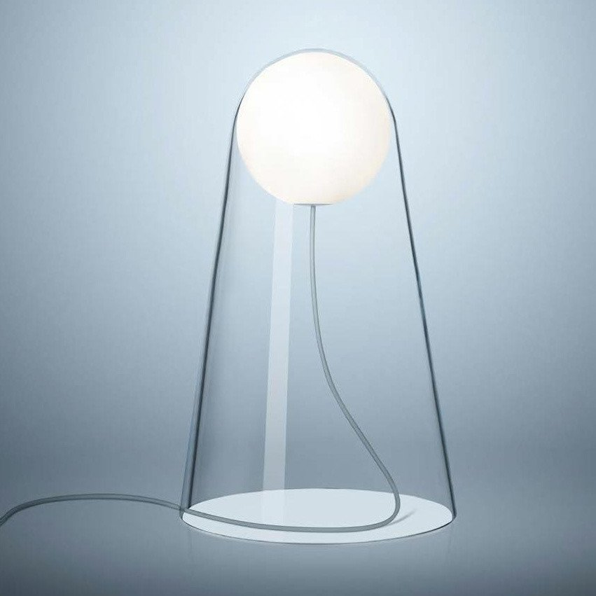 Foscarini   Satellight LED Table Lamp   White/transparent/Push ...