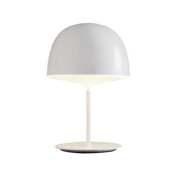 Fontana Arte - Cheshire LED Tischleuchte - weiß/Metall/H53cm/Ø35cm/3000K/1650lm