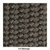 Kettal - Cala Sessel Gestell aluminium rund - nebel grau/marengo/Stoff 257 fog/ Seil marengo/BxHxT 105,2x152,3x82,5cm/Gestell aluminium sahara