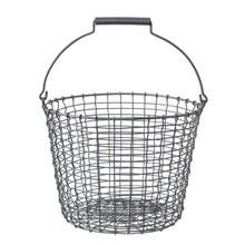 Korbo - Bucket - Cesto de alambre con asa