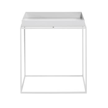 HAY - Tray Table Beistelltisch - weiß/40x40x44cm