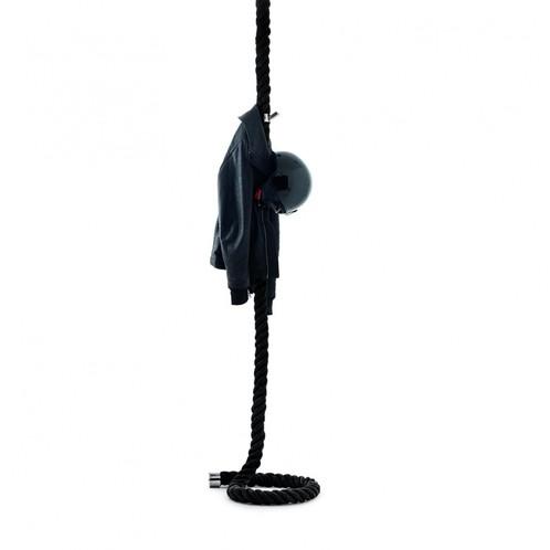 Opinion Ciatti - La Cima Garderobe - schwarz/inkl. 6 Garderobenhake/Ø6xH350 cm/Deckenaufhängung notwendig!