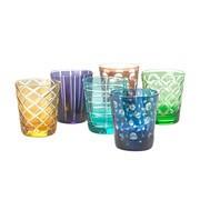 pols potten - Cuttings glas set van 6