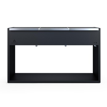Röshults - BBQ Grill 320 Charcoal - anthracite/3 stainless steel cooking grate