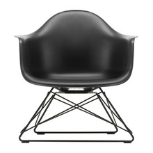 Vitra - Eames Plastic Armchair LAR Gestell schwarz