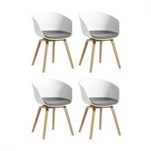 HAY - HAY About a Chair 22 Armchair Set Of 4