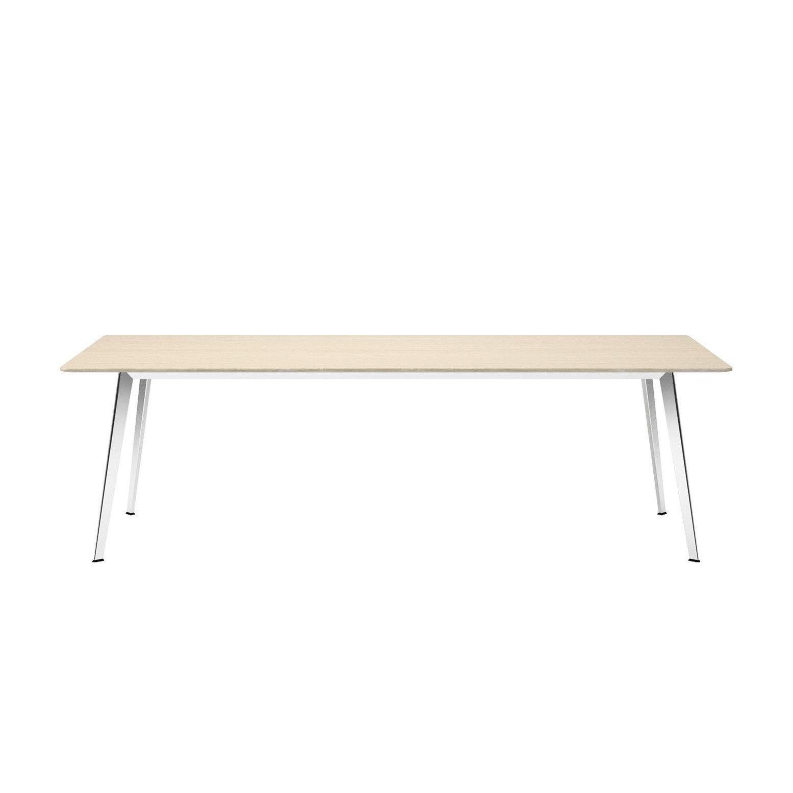 Außergewöhnlich Tisch Massiv Foto Von Montana - Jw 120x240cm - Eiche/massiv/gestell Aluminium