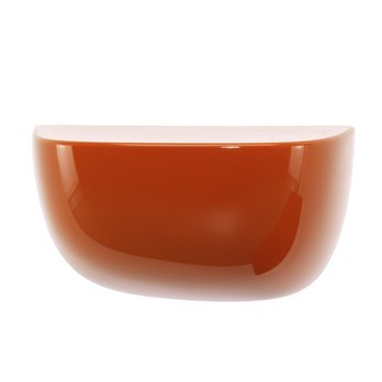 Vitra - Corniches Bouroullec Wandregal S - orange/glänzend/21.0 x 11.6 x 14.4 cm