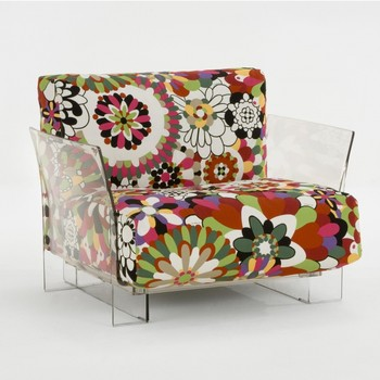 Pop Missoni Single Seater Kartell Easy Chairs