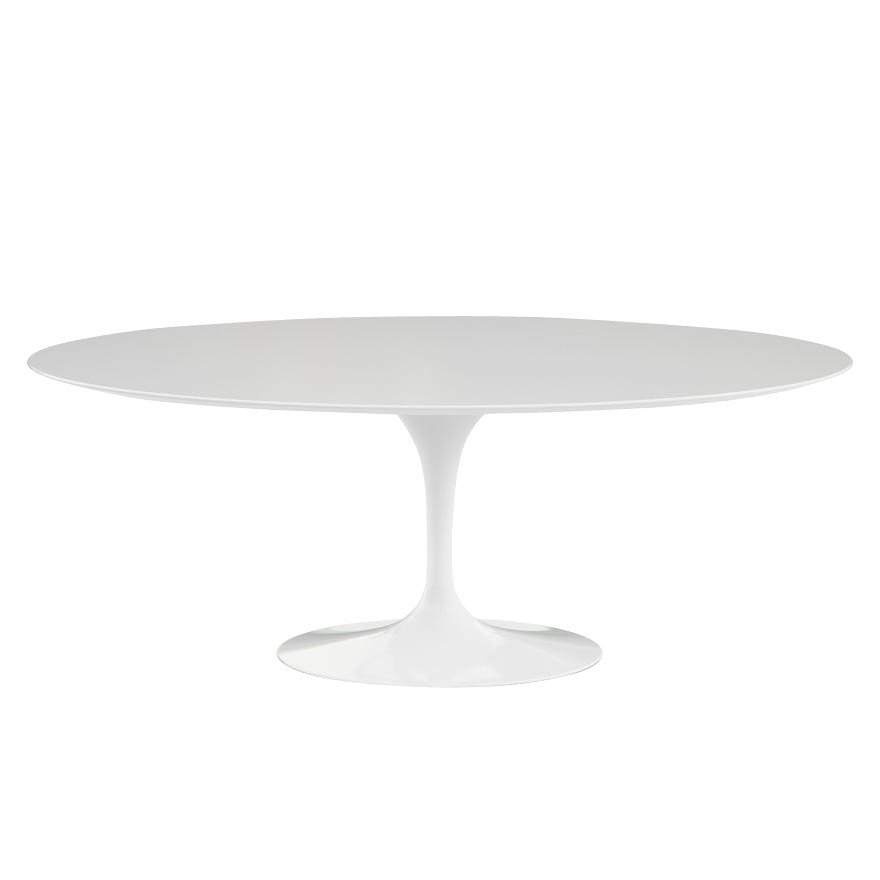 Saarinen tisch oval outdoor knoll international for Tisch design oval