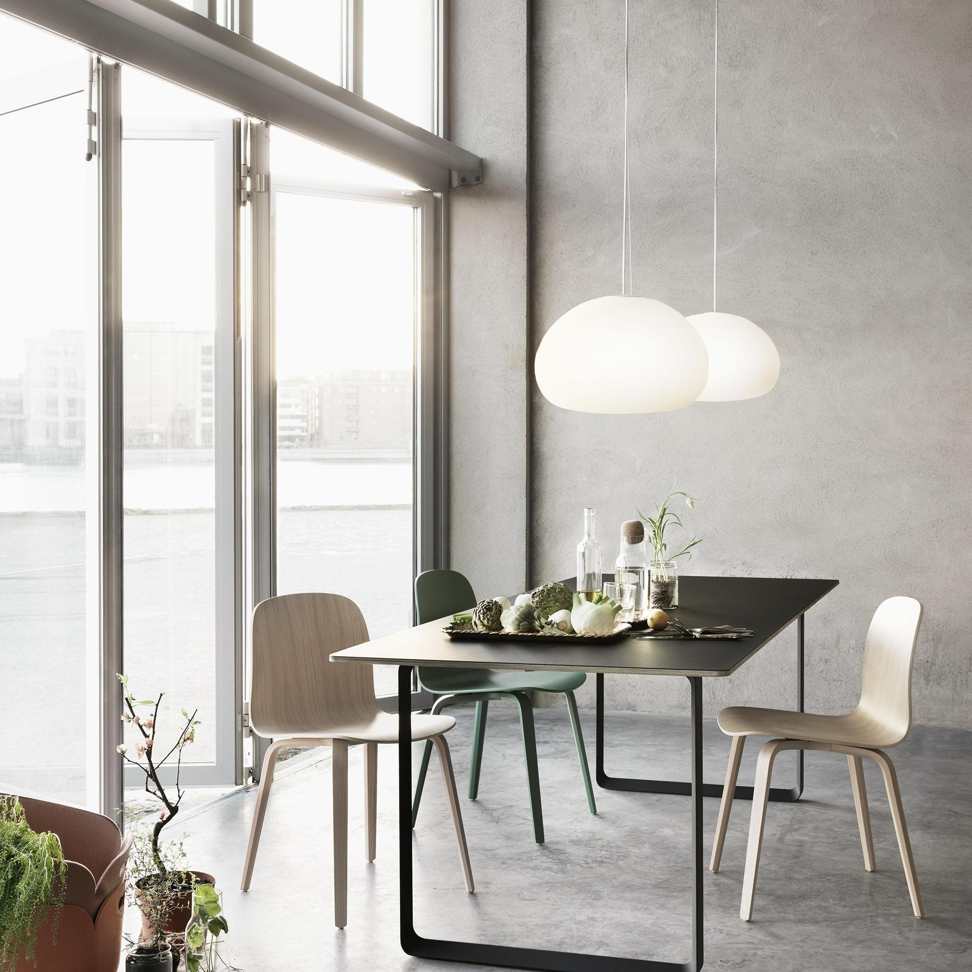 Muuto Visu Chair With Wood Frame