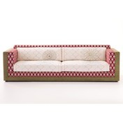 Moroso - Karmakoma Sofa 3 Sitzer - multicolour / 250x105x74cm