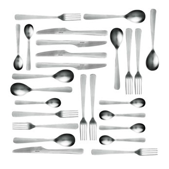 Normann Copenhagen - Normann Cutlery Besteckset 16tlg. - silber/Lieferbar ab Juni 2017