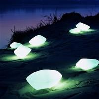 Oluce - Stones Außen-/Innenleuchte