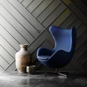 Fritz Hansen - Egg Chair/ Ei Fußhocker Limited Edition