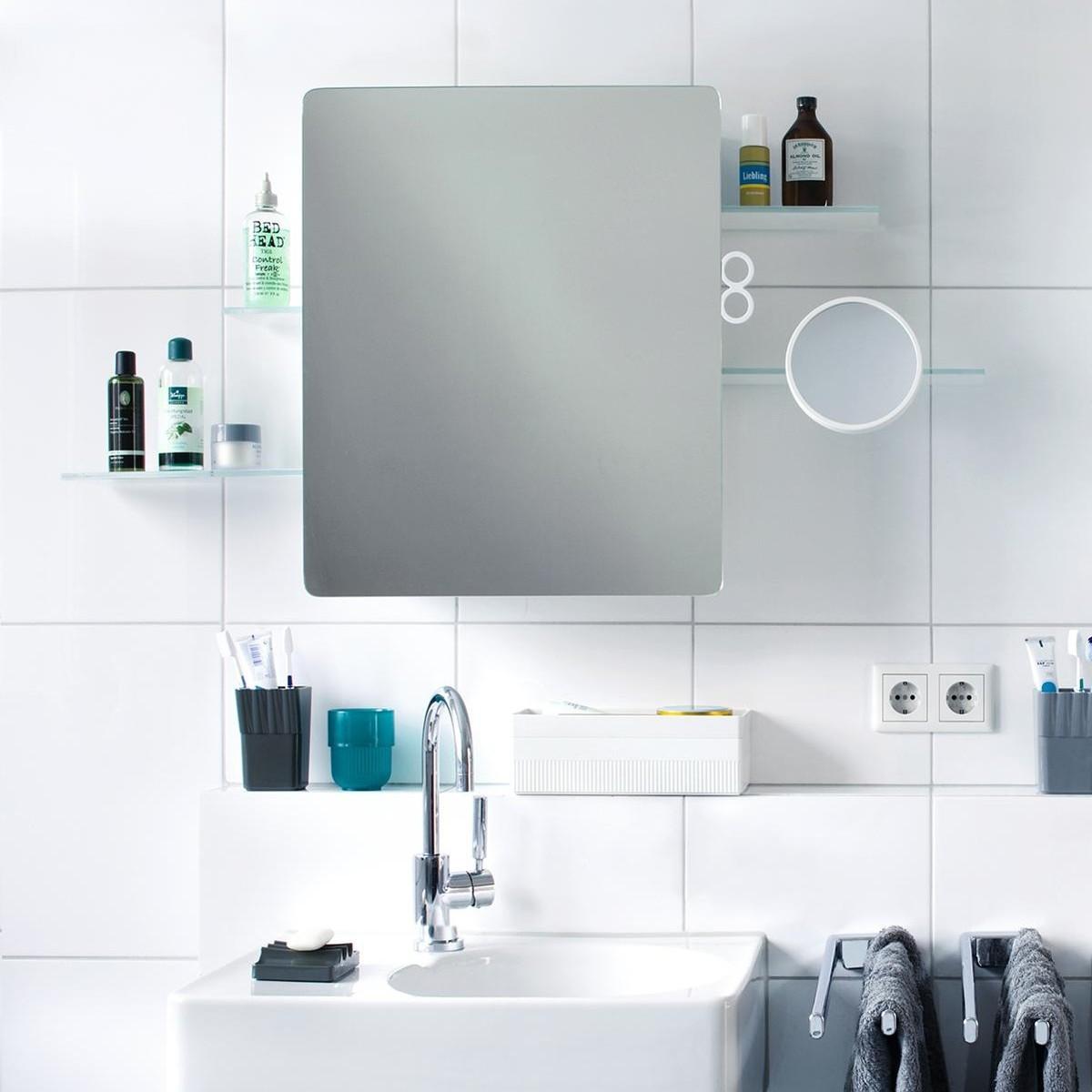 kali armoire de toilette avec miroir authentics. Black Bedroom Furniture Sets. Home Design Ideas