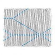 HAY - S&B Dot Teppich 80x100cm - big blue/80x100cm