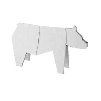 Magis - Me Too My Zoo Bär Figur - weiß/B x H: 44 x 25.5cm/Größe 1