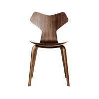 Fritz Hansen - Grand Prix Chair 46,5cm With Wood Frame