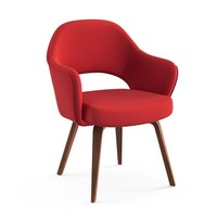 Knoll International - Saarinen Conference - Fauteuil noyer