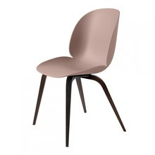 Gubi - Beetle Dining Chair - Silla roble ahumado