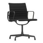 Vitra - Chaise avec accoudoirs EA 104 structure noir