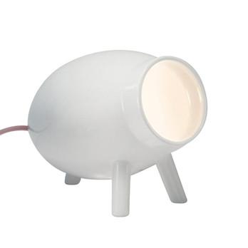 Danese - Lumoid LED Tischleuchte - weiß/H x L: 18.5 x 26cm