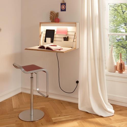 müller möbelwerkstätten - Flatbox Wandsekretär