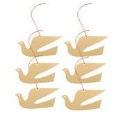 Vitra - Girard - Set de 6 ornaments colombe