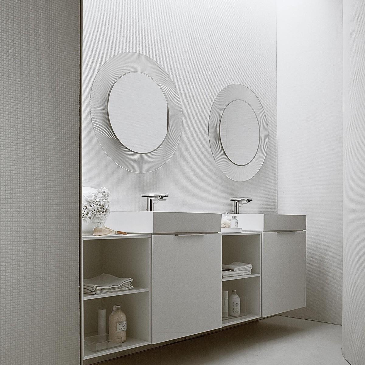 kartell by laufen all saints mirror  kartell  ambientedirectcom - kartell  all saints mirror