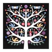 Vitra - Tree of Life Wanddekoration - mehrfarbig/pulverbeschichtet/LxBxH 70x5x70cm/inklusive Montagematerial