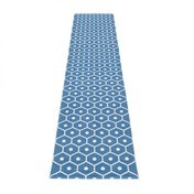 pappelina - Honey Teppich 70x350cm - blau/vanille