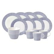 Royal Doulton - Set de vaisselle 16 pièce Pacific Dots