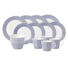Royal Doulton - Pacific Dots 16 Piece Dinner Set