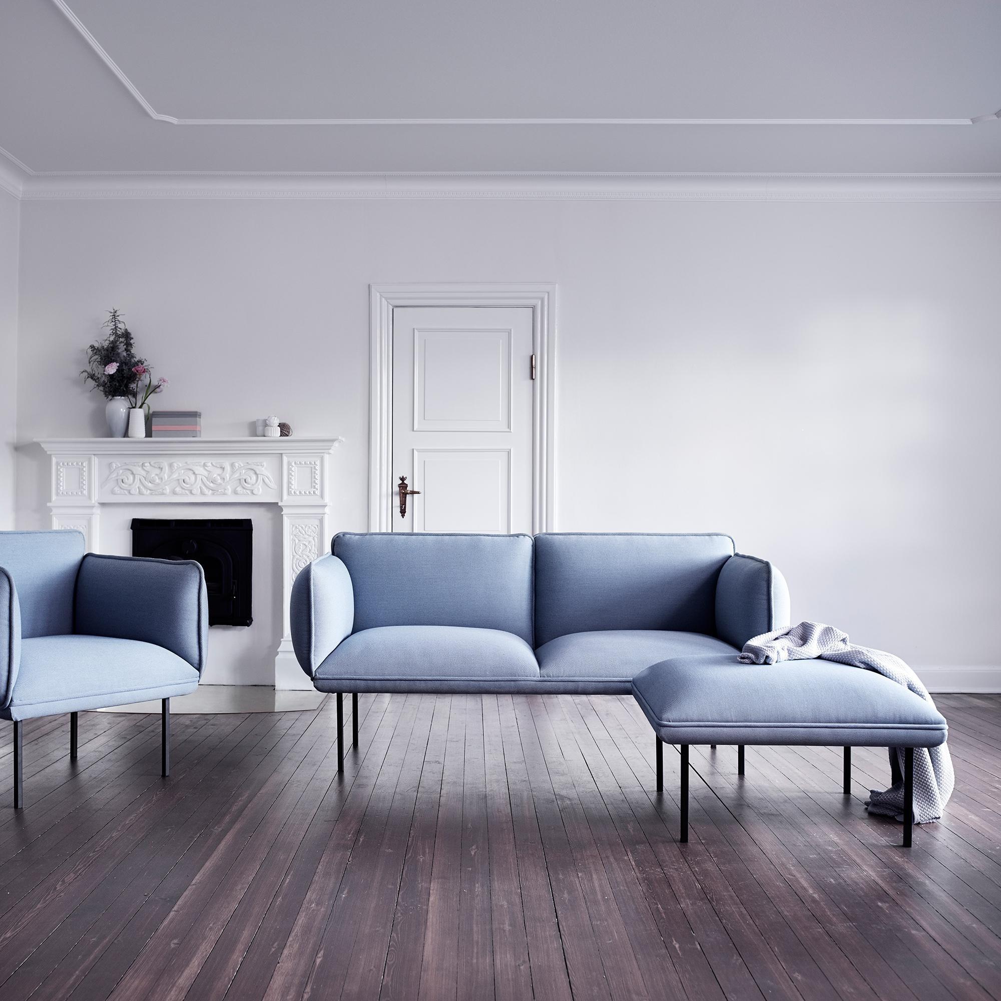 Woud Nakki 2 Seater Fabric Sofa Ambientedirect